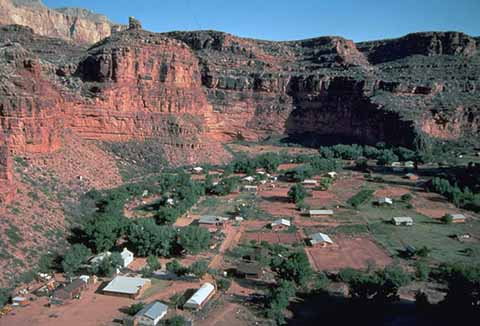 Havasupai Indian Reservation Grand Canyon National Park U S National Park Service