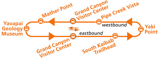 Orange Shuttle Bus Route Map
