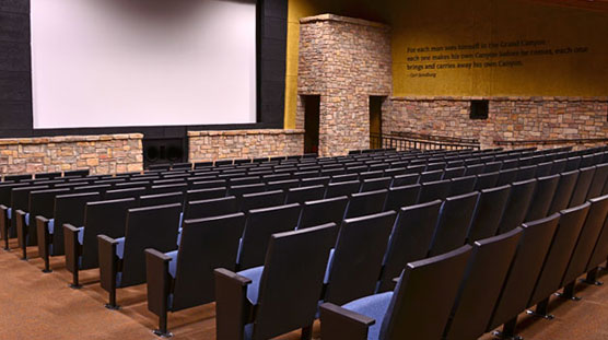 Theater at the Grand Canyon Visitor Center