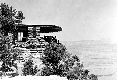 Yavapai Point Trailside Museum in 1929.