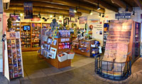 Bookstore in the Yavapai Museum of Geology