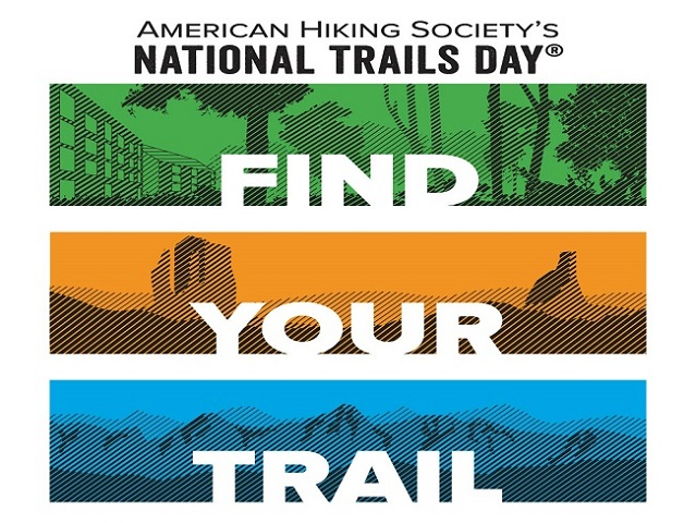 National Trails Day insignia