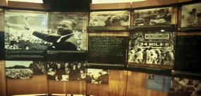 a picture of a Martin Luther King display