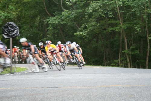 a picture of the Mt Velo bicycle races