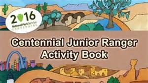 Centennial Junior Ranger Book