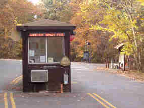 Greenbelt Park campground fee booth