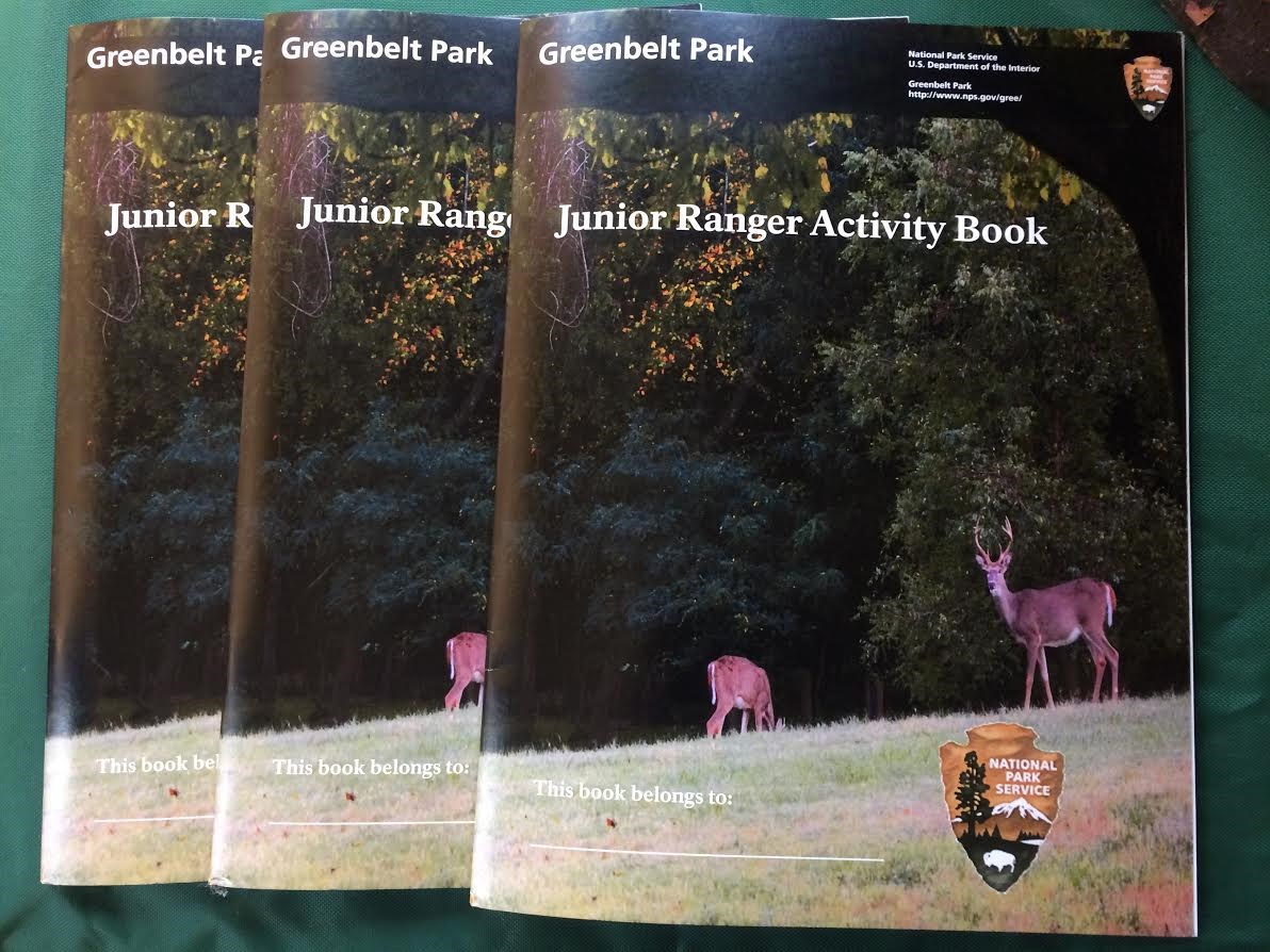 NEW Greenbelt Park Junior Ranger Booklet