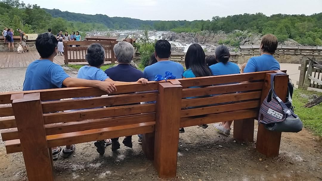 Bench donated by Chung Family