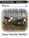 Cover page of the Junior Rancher activity booklet.