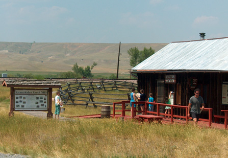 Grant-Kohrs Ranch visitor center