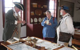 Celestial navigation and 18th century mapping displays