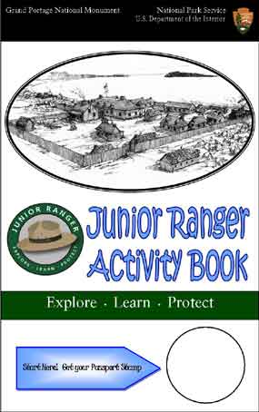 Junior Ranger Activity Book cover