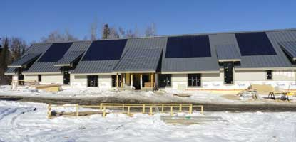 Dormitory Completed Roof & Solar