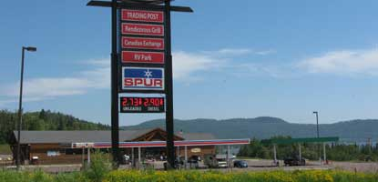 Grand Portage Gas Station