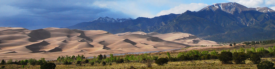 Great Sand Dunes and Sangre de Cristo Mountains