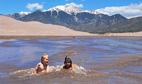 Medano Creek Great Sand Dunes National Park Amp Preserve