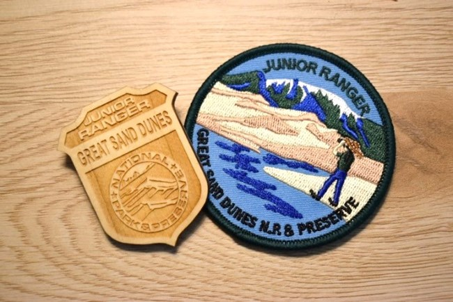 Great Sand Dunes Badge and Patch
