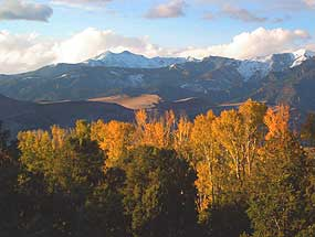 Great Sand Dunes and Autumn Colors