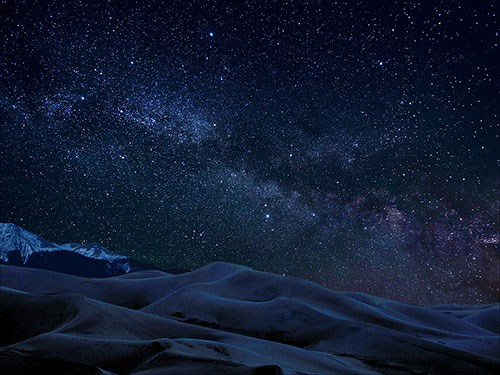 Milky Way over Great Sand Dunes
