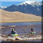 Children Floating Medano Creek Thumbnail