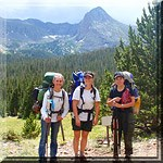 Women Backpacking Icon