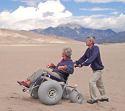 Accessibility Great Sand Dunes National Park Preserve US