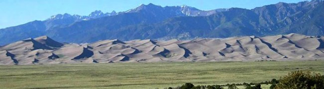 View from Great Sand Dunes Lodge