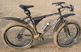 Fat Bike in Sand