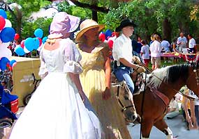 Parade in San Luis Valley