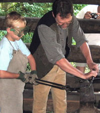 4th grade blacksmithing
