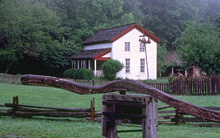 The Gregg-Cable House in Cades Cove.