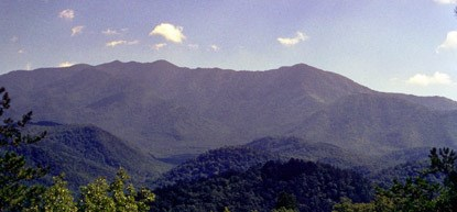 Mount Le Conte is the park's third highest peak.