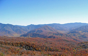 A clear view from Cove Mountain.