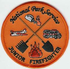 Junior Firefighter badge.
