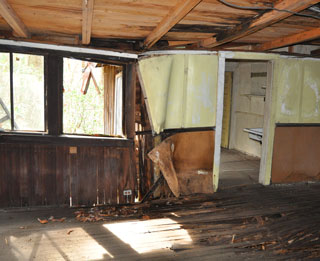 Some cabins at Elkmont are no longer structurally stable.