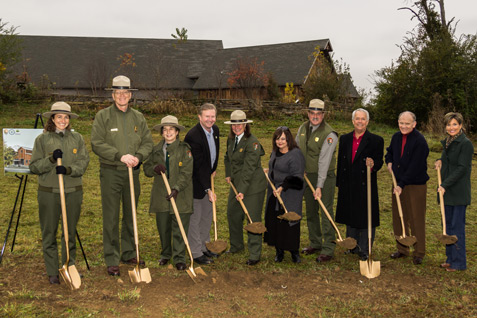 Collection Preservation Center Groundbreaking