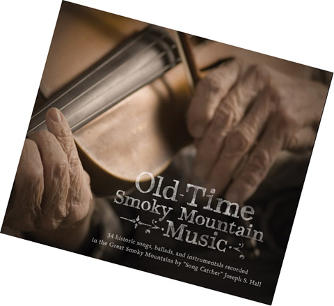 Cover of the compact disc recording, Old Time Smoky Mountain Music