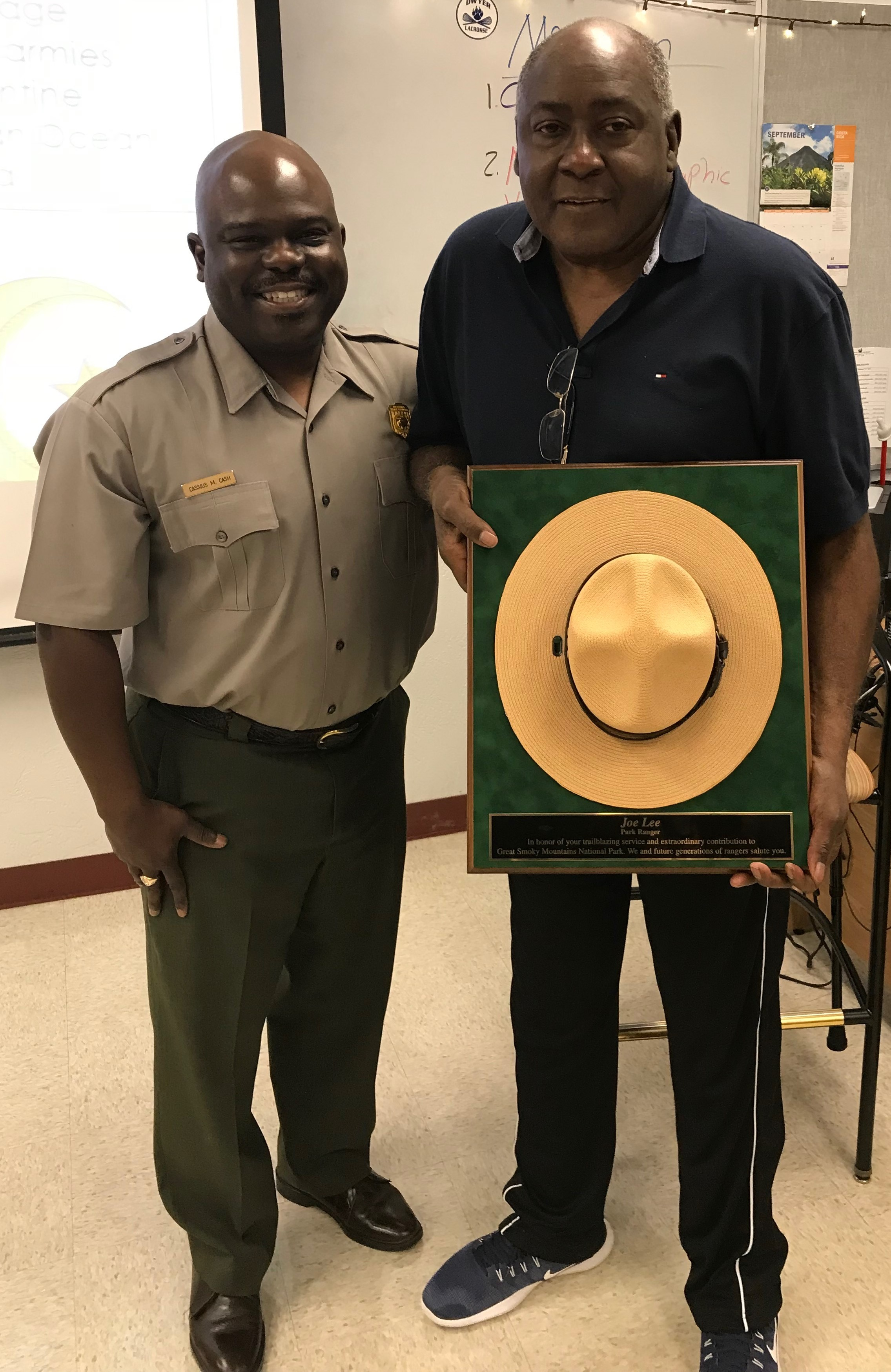 Park Superintendent Recognizes First African American Naturalist