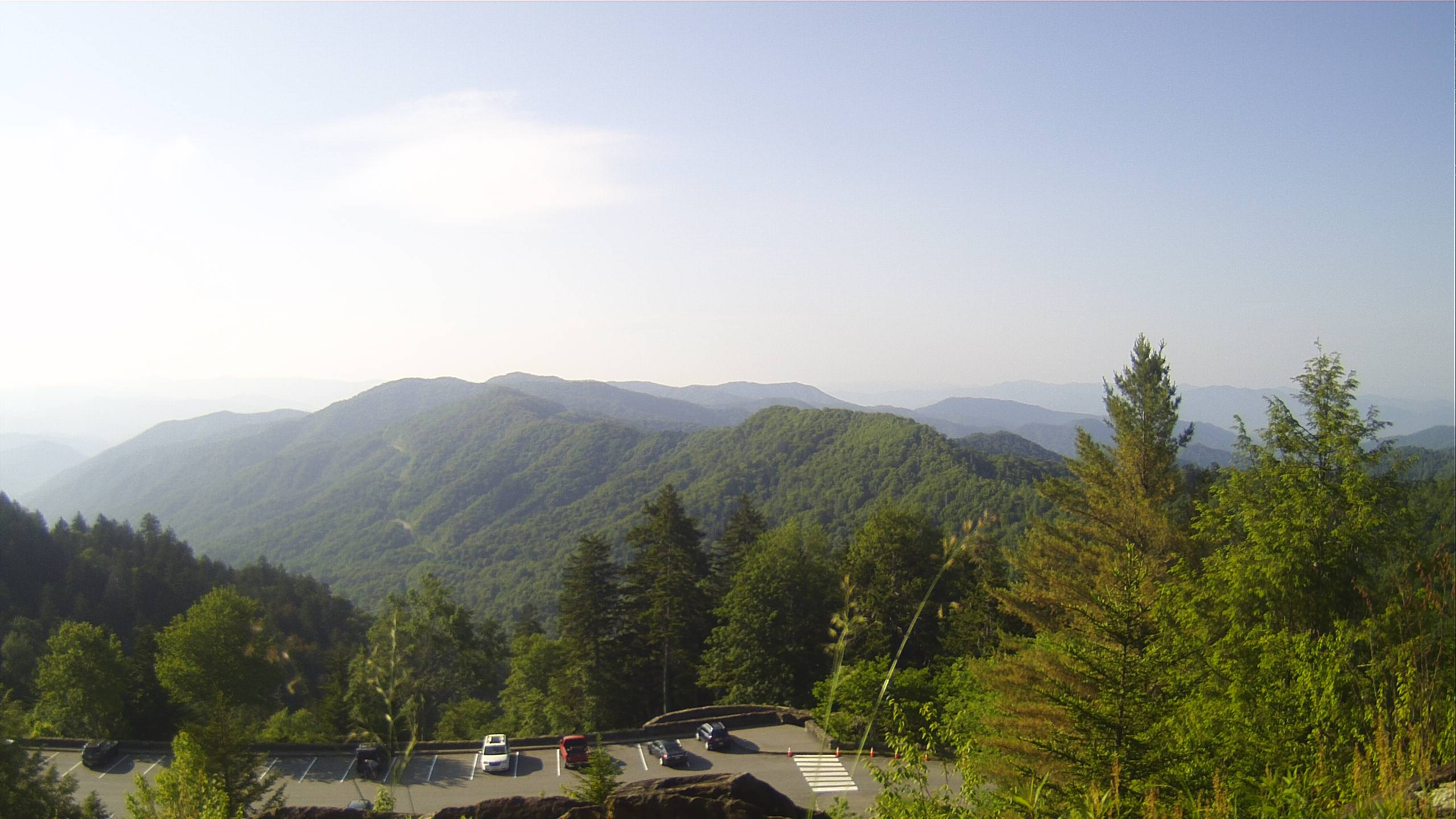 view of Newfound Gap Looking South