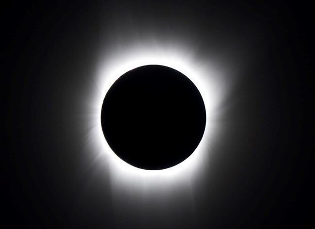2017 Solar Eclipse Blue Ridge Parkway U S National