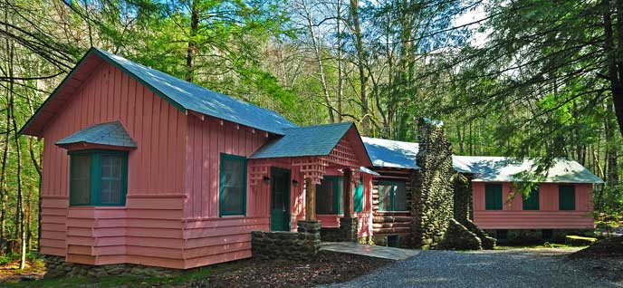 Spence cabin river lodge great smoky mountains for Tn fishing license cost