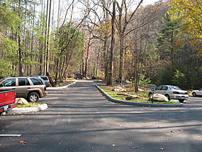 Parking areas where redesigned at Little River and Jakes Creek trailheads.