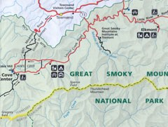 Directions - Great Smoky Mountains National Park (U.S. National Park ...
