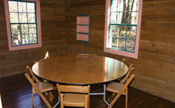 Small meeting room in Spence Cabin
