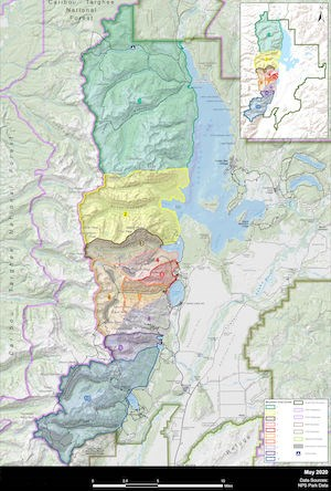 Map of Mountain Goat Management Zones