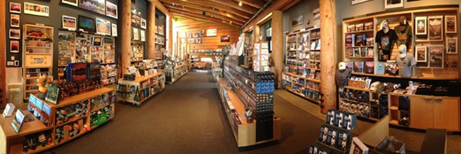 Grand Teton Association Bookstore in Moose
