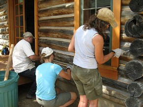 WCHP--Vertical Media Volunteers at White Grass Dude Ranch