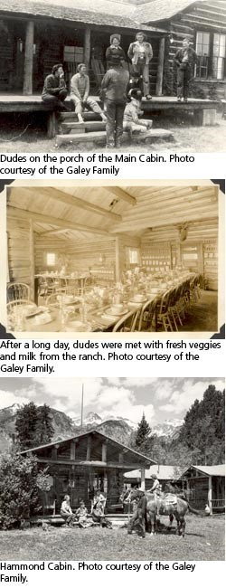 Historic photos of the White Grass Ranch