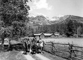 White Grass Dude Ranch Grand Teton National Park U S
