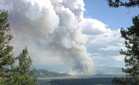 Fire on Blacktail Butte